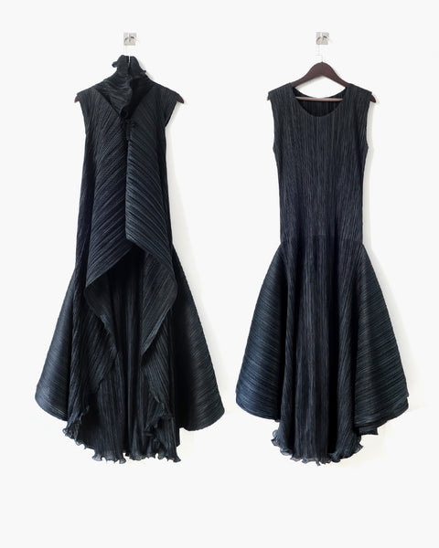 Issey Miyake Pleats Please Transformable Dress Sz 5