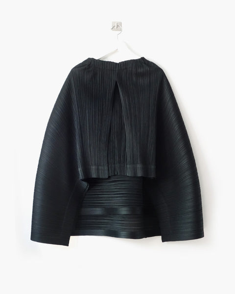 Issey Miyake Pleats Please Flared Sculptural Skirt Sz 3