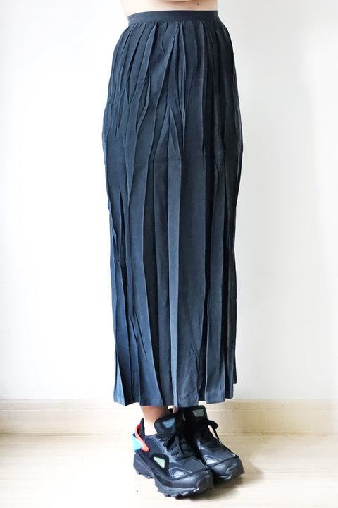Issey Miyake Pleated Skirt Suit Size M