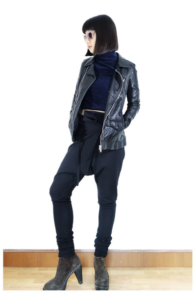 Rick Owens Stooges Biker Jacket IT 40