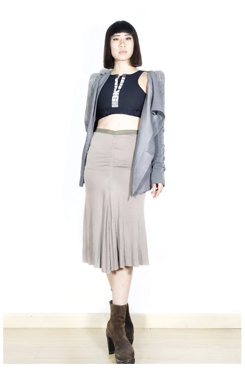 Rick Owens Pencil Skirt Sz 40