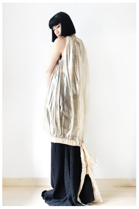 Rick Owens SS2013 Silk-Blend Tunic Dress 42