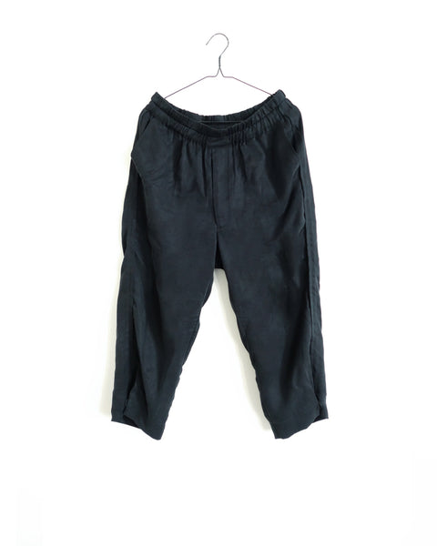 ROSEN Plato Trousers in Sandwashed Silk