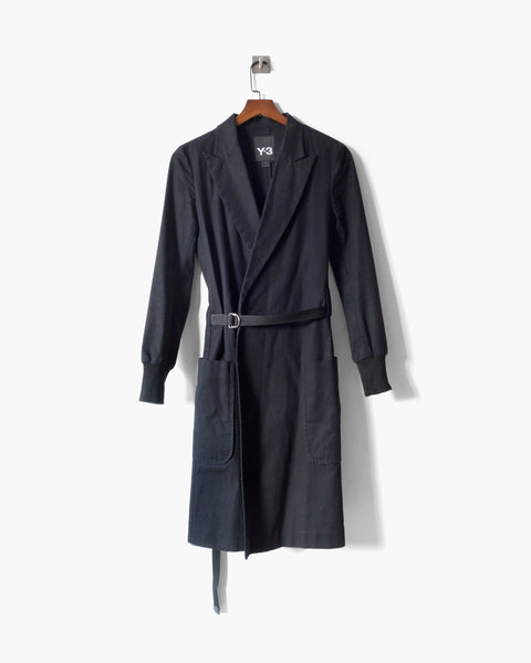 Y-3 Tailored Cotton Coat Sz XS