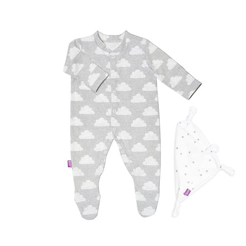 Snuz sleepsuit and comforter gift set- Cloud nine