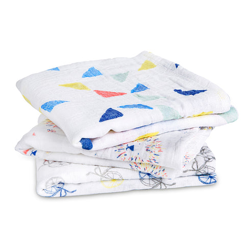 Aden & Anais 3 Pack Musy Muslin Squares