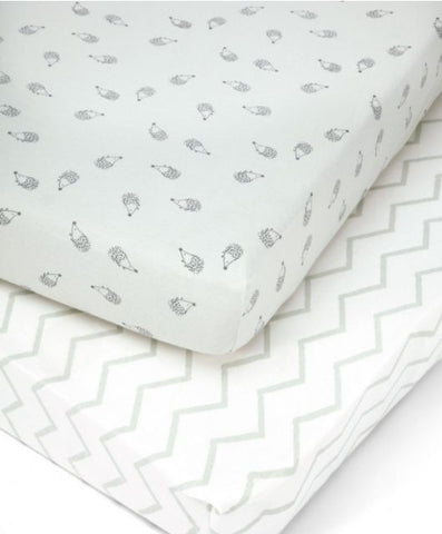 Cot Bed Fitted Sheets 2 pk