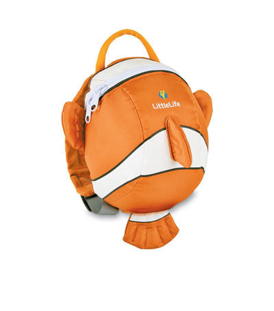Clownfish Toddler Daysack With Rein