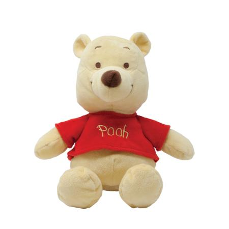 Disney Baby Winnie the Pooh Soft Toy with Jingle