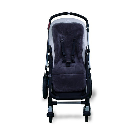 Outlook Pram Liner Grey Wool