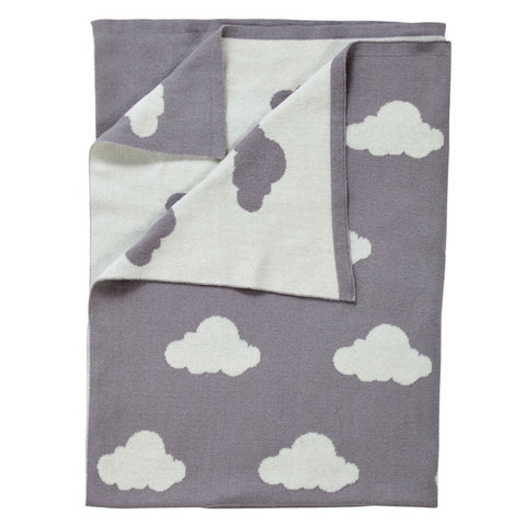 Reversible Cloud Print Blanket