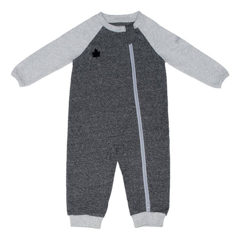 Raglan Playsuit Graphite