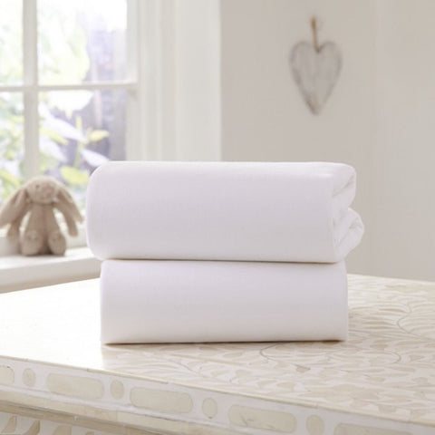 Universal Bedside Crib Fitted Sheets 2pack