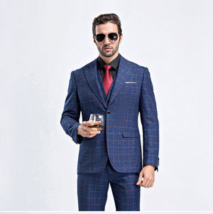 Squared Three-Piece Suit