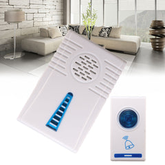 Home Security Digital Cordless Wireless Doorbell Door Chime Bell Kit 32 Music