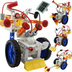 4 In 1 Solar Power Building Blocks Robot Kits Educational Toy