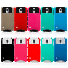 Dual Color TPU+PC Silicone Protective Case For Samsung Galaxy S5 i9600