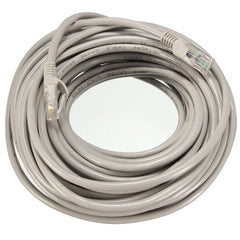 15M RJ45 CAT-5E Ethernet Network Cable Internet Lead LAN UTP Cord Patch Gray