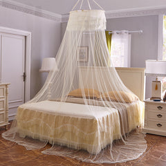 Honana WX-M01 Ceiling Mosquito Net Elegant Romantic Round Hung Dome Lace Curtain Bed Canopy