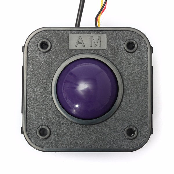 45mm Purple Ball PS-2 PCB Connector Arcade Trackball Mouse For JAMMA MAME Arcade