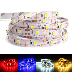 DC5V SMD2835 1M USB LED Strip Party Light TV PC Background Backlight Non-waterproof