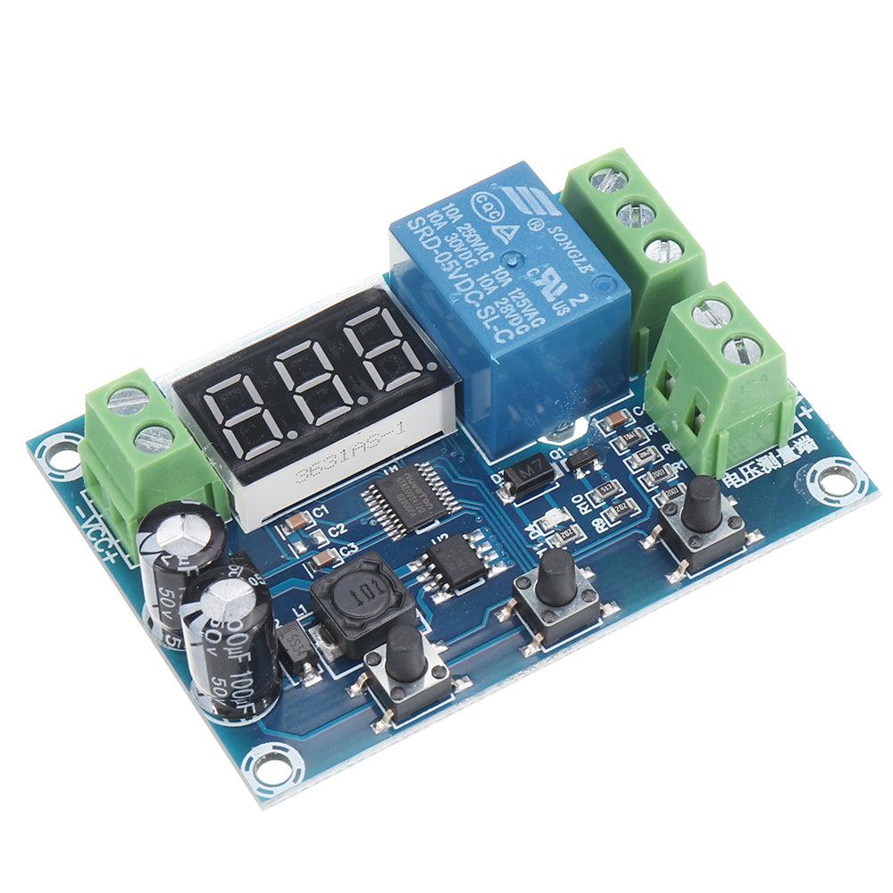 XH-M608 DC6-40V Battery Charge Discharge Module Integrated Voltmeter Undervoltage and Overvoltage Protection Timing Charge and Discharge Board