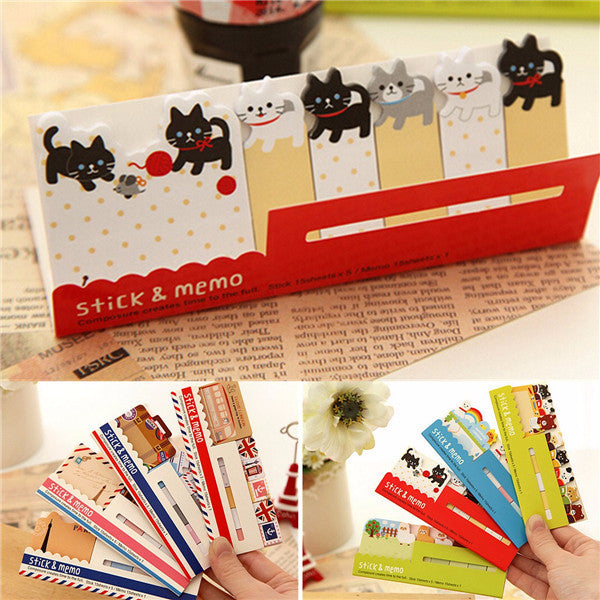 Wil je alles weten over Sticky Notes Memo Message Pad Label Bookmark To Do List Sticker Notepad Random? Hier lees je alles over Office & School Supplies Stationery Supplies