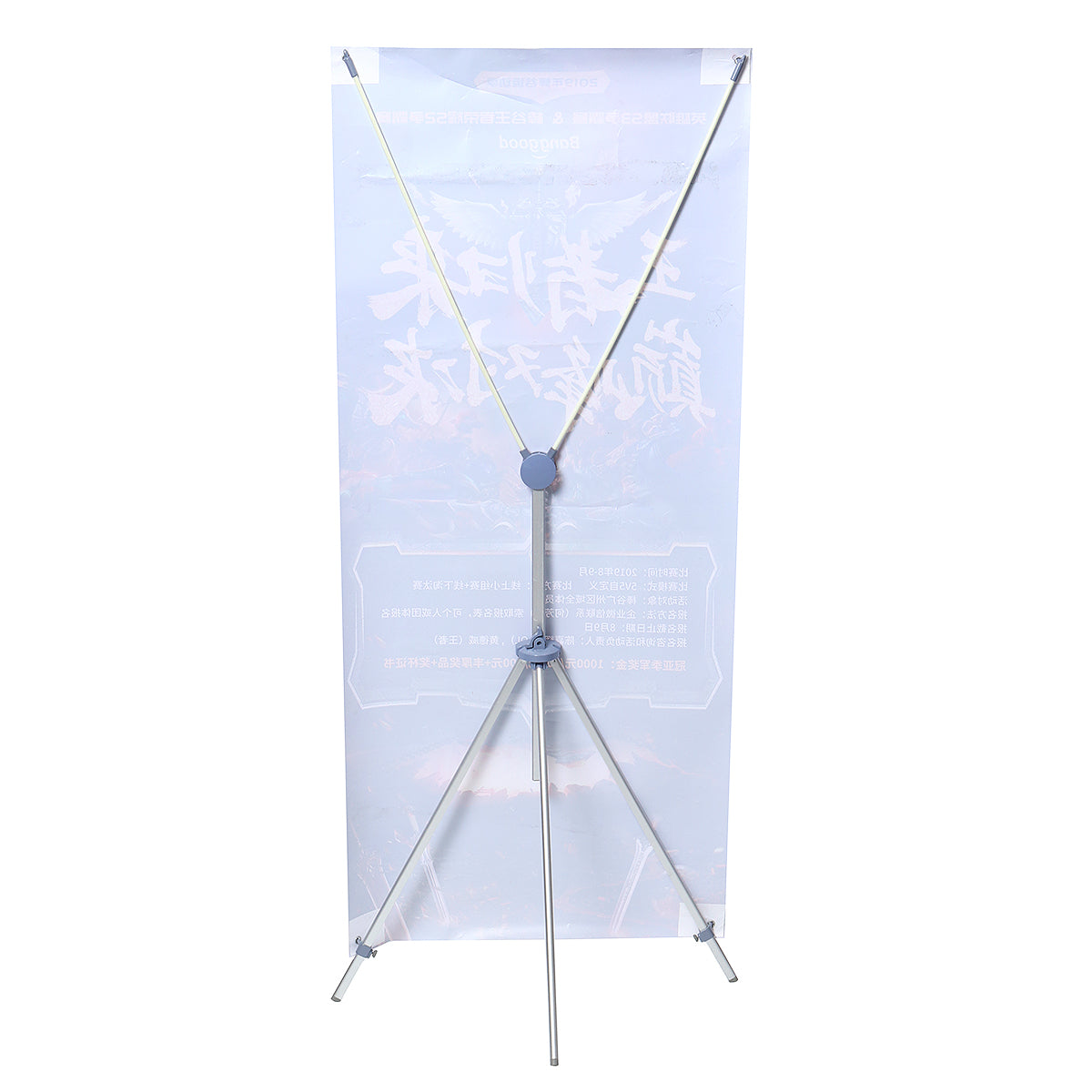 X Display Rack Hanging Easel Display Paint Rack Aluminum Alloy X Wedding Display Rack X Poster Rack Event Display Rack