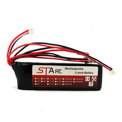 STARC 11.1V 8C 2200mAh Li-Poly Battery For Flysky Futaba Walkera Transmitter
