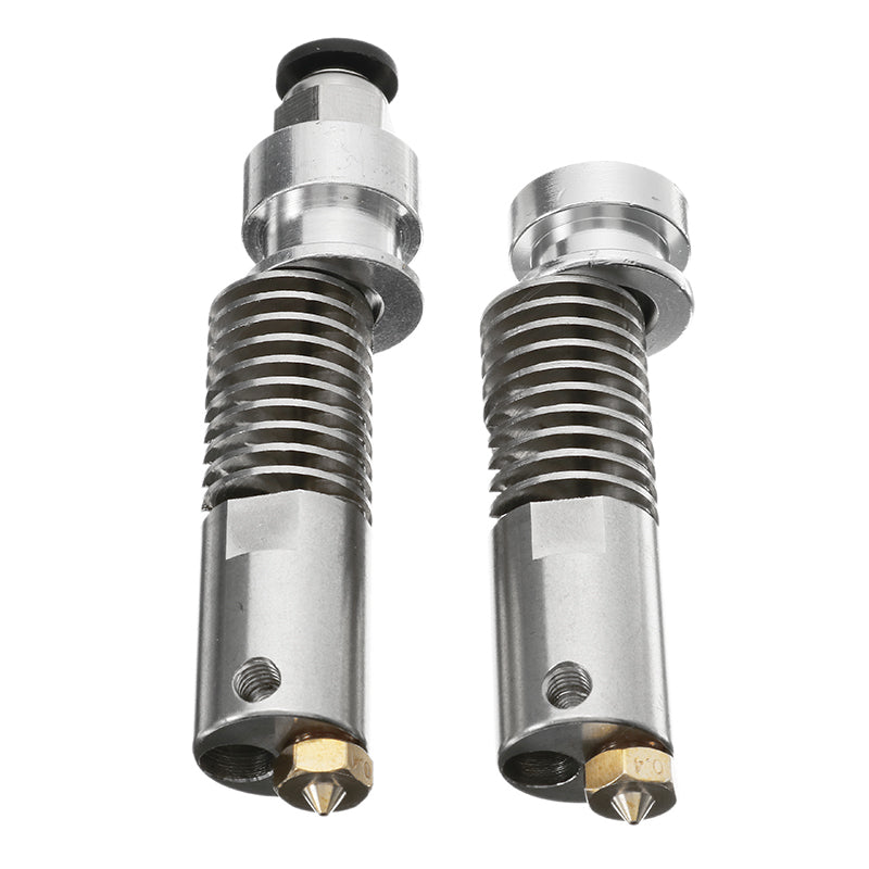 1.75mm Long-Short Distance Stainless M4 B3 Heating Extruder Nozzle Head For 3D Printer