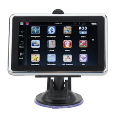 YL-620 Car GPS Navigation 4.3 Inch Touch Screen MTK FM DDR 128 MB