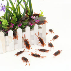 10PCS Simulation Cockroach Funny Trick Props Halloween Supply Toys For Kids Children Gift Toys