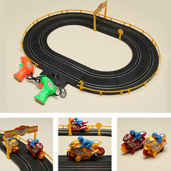 HZ Wire Control Electromagnetic Motor Track Toy Double Competitive Toys