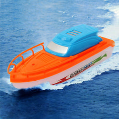 Random Color New Electric Speed Racing Boat Motor Speedboat Baby Bathe Bathtub Kids Game Toys Gift