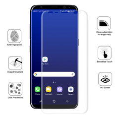 Enkay 0.1mm 3D Curved Self Repair Scratch TPU+TPE+PET Screen Protector For Samsung Galaxy S8