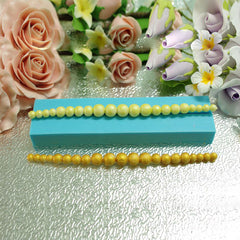 Pearl Necklace Fondant Mold 3D Cake Chocolate Sugar Craft Mould