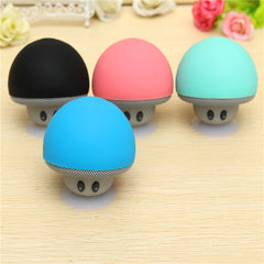 Cute Mushroom Bluetooth V3.0 Speaker Handsfree Stand Holder For iPhone Xmas Gifts