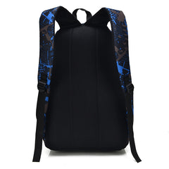 3Pcs Men's Women's Waterproof Laptop Bag Travel Backpack With External USB Charging Port