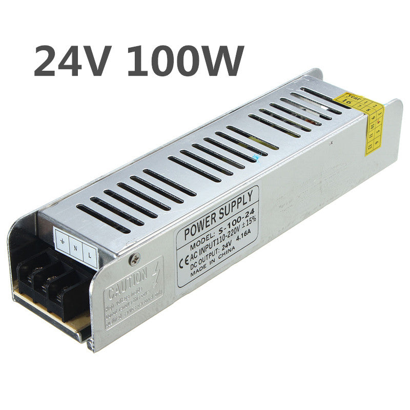 IP20 AC110V-220V To DC24V 100W Switching Power Supply Driver Adapte