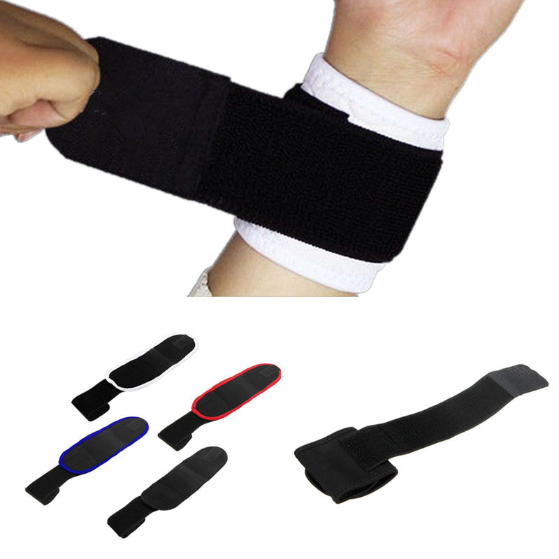 Wil je alles weten over IPRee® Sports Wristband Wrist Brace Wrap Bandage Support Gym Adjustable Strap? Hier lees je alles over Sports Protective Gear