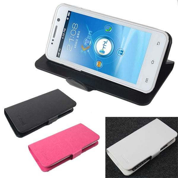 PU Leather Protective Stand Case For ThL W100
