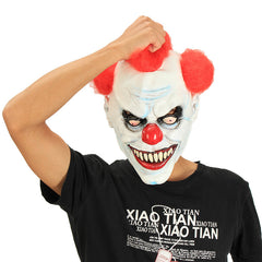 Halloween Party Home Decoration Clown Mask Headgear Costume Supply Children Gift Toys