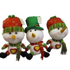 Funny Snowman With A Heart Christmas Xmas For Gift Decoration