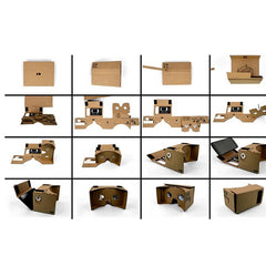 NFC DIY Cardboard Virtual Reality 3D Glasses For iPhone