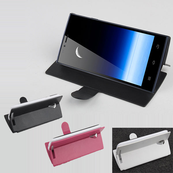 Flip Leather Protective Cover Case For THL T6S