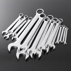 20Pcs Metric 6-32 Combination Wrench Spanner Set 45# Steel Nickel Plating