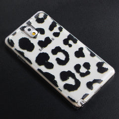 Plastic Leopard Protective Back Case For Samsung GALAXY note3 N9000