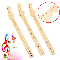 Electric Guitar Maple Neck 22 Frets For ST Strat Replacement