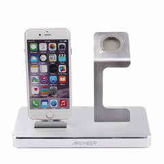ARCHEER 3 in 1 MFI Certified Charging Dock Stand Power Station Holder For Apple Watch iPhone iPad