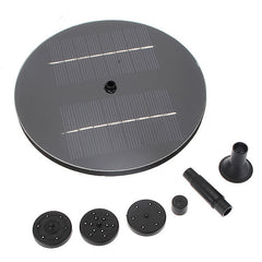 8V 1.4W Mini Solar Panel Brushless Water Pump Garden Floating Fountain Pool Plants Watering Kit